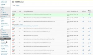 404 Monitor do SEO Ultimate WordPress plugin