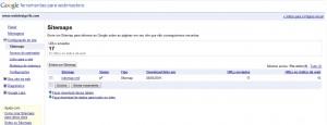 Enviar o sitemap do website ao Google Webmaster Tools