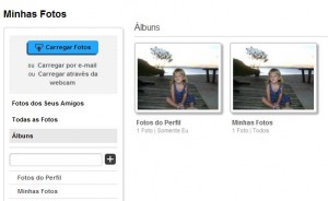Minhas fotos no Myspace