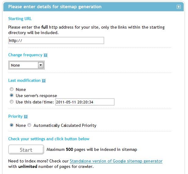 Web Sitemap Page: Marketing Digital » SEO
